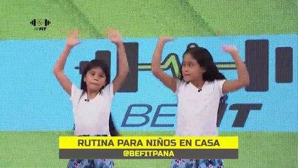 Rutina de ejercicios funcionales para niños | BeFit - Nex Panamá
