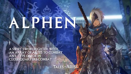 Tales of Arise - Alphen - Character Introduction