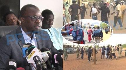 Ousmane Sonko appelle les Sénégalais à user de la violence pour répliquer aux nervis par la violence
