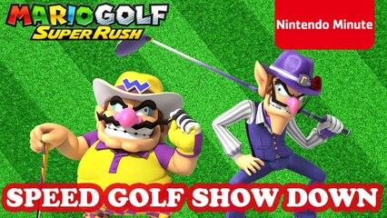 Mario Golf: Super Rush – Wario VS Waluigi Speed Golf SHOWDOWN