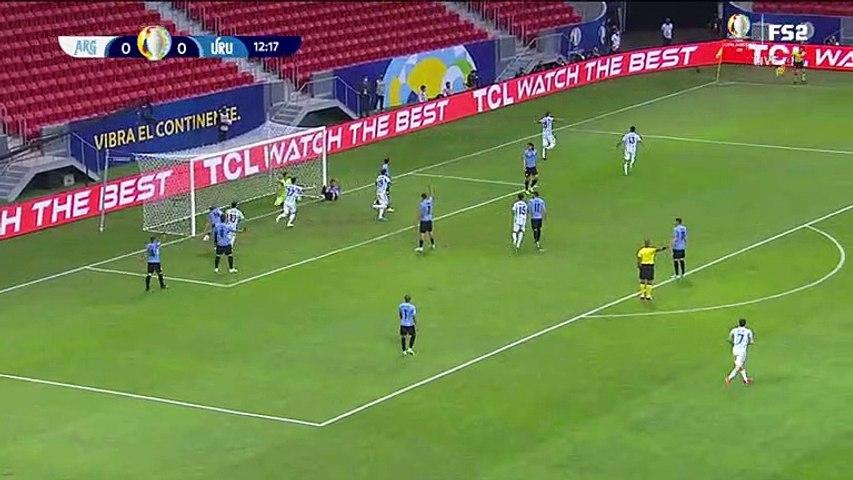 Argentina vs Uruguay - all goals and highlights - 18.06.2021