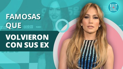 Jennifer López y otras famosas que han regresado con sus ex a pesar de todo   Jennifer López and other celebrities who have returned with their exes despite everything