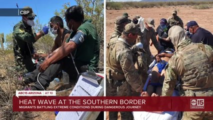 Migrants at risk as record-breaking heat impacts Arizona