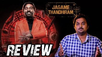 Jagame Thanthiram movie Review _ Dhanush