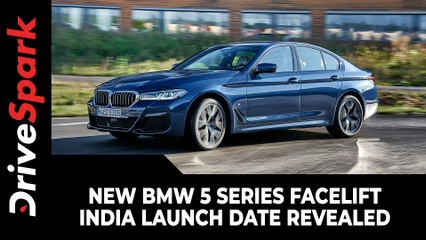New BMW 5 Series Facelift India Launch Date Revealed   2021 BMW 5 Series Launching Soon