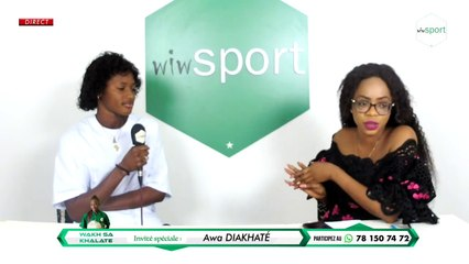 Spéciale #WakhSaKhalate avec Awa DIAKHATÉ #Football #Féminin