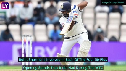 India vs New Zealand WTC Final Day 2 Stat Highlights: Virat Kohli Holds Fort