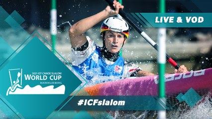 2021 ICF Canoe-Kayak Slalom World Cup Markkleeberg Germany / Canoe Semis