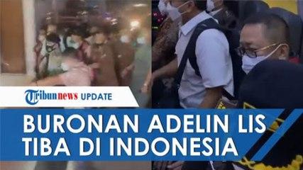 Penampakan Buronan Adelin Lis saat Tiba di Indonesia, Pakai Rompi Tahanan dan Tangannya Diborgol