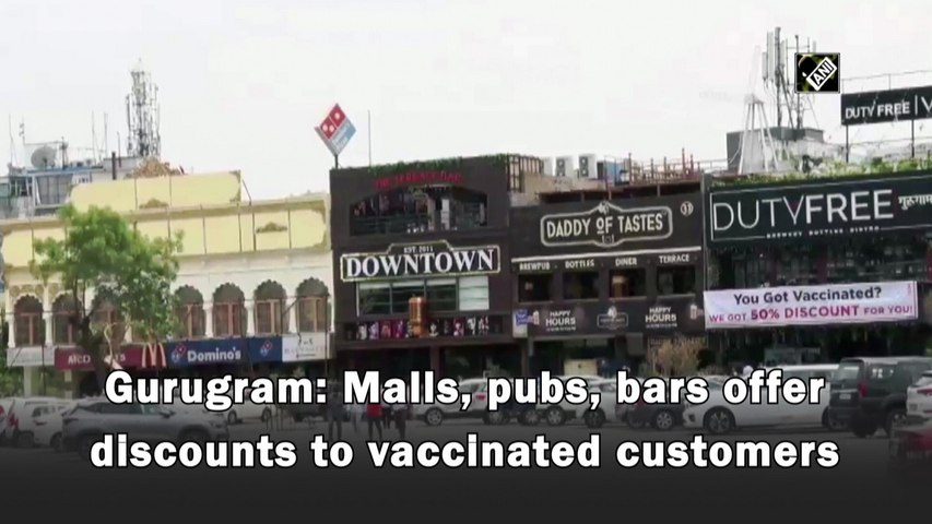 Gurugram  malls, pubs to offer discounts to vaccinated customers