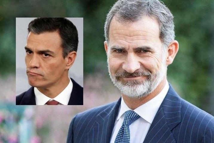 Felipe VI, Rey de España, se 'mofa' del socialista Pedro Sánchez