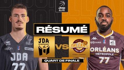 Dijon vs. Orléans (83-59) - Résumé - 2020/21