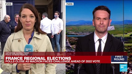 France regional elections: Polls close in French regional elections marred by low turnout