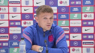 England's Trippier previews their clash with Czech Republic