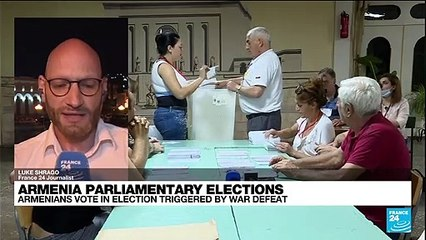 Armenia counts votes in snap parliamentary poll