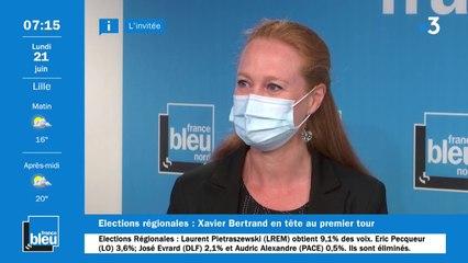 """Régionales : """"Ces élections sont très loin des préoccupations des Français"""" regrette Violette Spillebout."""