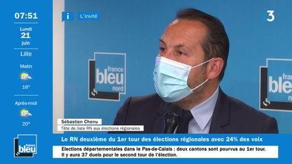 """Régionales : """"L'enjeu c'est la mobilisation des électeurs du Rassemblement national"""", affirrme Sébastien Chenu"""