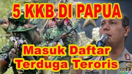 BNPT Tetapkan 5 KKB Papua Masuk Daftar Terduga Teroris