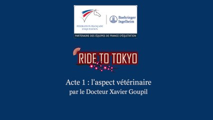 Acte 1 : l'aspect vétérinaire par le Docteur Xavier Goupil