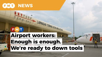 Airport workers against Subang airport 'takeover'