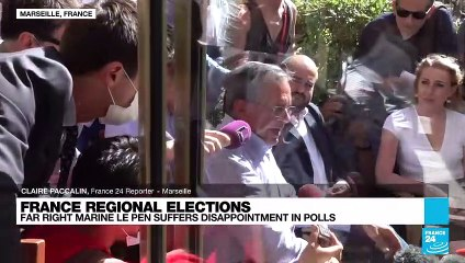 Le Pen's party comes top in Provence in regional election