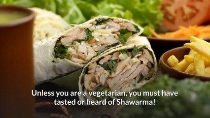 Shawarma! The yummiest street food
