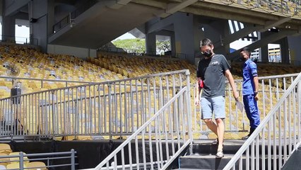 Khairy visits Bukit Jalil Covid-19 vaccination centre