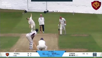 Cricket player hits huge six but ends up smashing his own car window