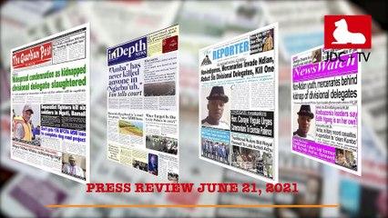 CAMEROONIAN PRESS REVIEW OF JUNE 21, 2021
