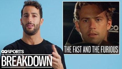 Formula 1 Driver Daniel Ricciardo Breaks Down Racing Movies