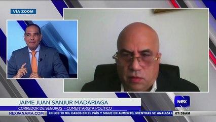 Entrevista a Jaime Juan Sanjur Madariaga, sobre una deuda de seguros con el fin de la moratoria - Nex Noticias