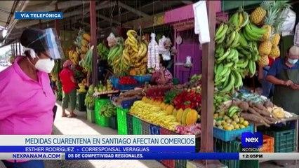 Medidas de cuarentena en Santiago afectan a comercios - Nex Noticias