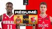 Monaco vs. Bourg-En-Bresse (91-72) - Résumé - 2020/21