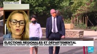 Régionales 2021 en France : les partis tentent de former des unions avant le second tour