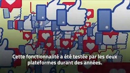 Les utilisateurs d'Instagram et de Facebook peuvent désormais cacher leur compteur de Like