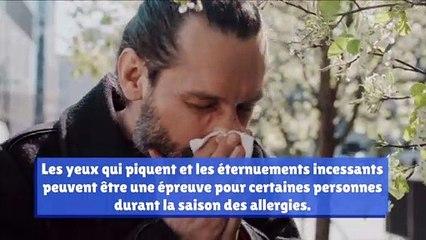 Comment ces objets peuvent vous aidez à vous débarrasser de vos allergies saisonnières