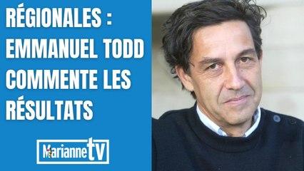 Emmanuel Todd commente les résultats des régionales pour Marianne