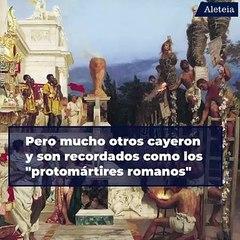 Acusados y asesinados injustamente. Conoce a los mártires de Roma