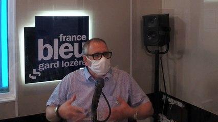 Abderzak Berkani, candidat du Rassemblement National sur la canton Nîmes 3