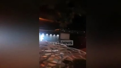 """""""Bjeri bjeri"""", shikoni përplasjen me armë në Sarandë ku u plagos biznesmeni pranë lokalit të natës"""