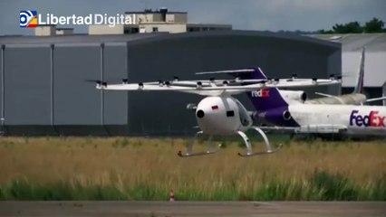 Una empresa alemana realiza su primer vuelo de su taxi aéreo eléctrico en Francia