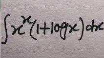 Integration of x^x(1+log x)dx , ,  x^x(1+logx) , ,  integration  , ,  rpkganit