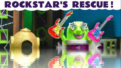 The Funlings Rockstar Funling Rescue with Marvel Avengers Superheroes in this Stop Motion Toys Episode Family Friendly Video for Kids from Kid Friendly Family Channel Toy Trains 4U