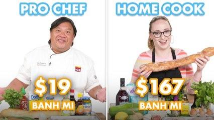 $167 vs $19 Banh Mi: Pro Chef & Home Cook Swap Ingredients