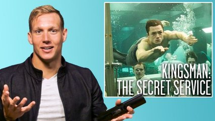 Olympic Swimmer Caeleb Dressel Breaks Down Swimming Scenes from Movies