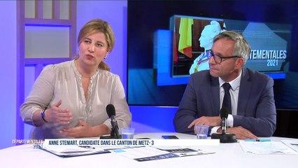 Le débat de l'entre deux tours des élections départementales sur le canton de Metz 3