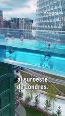 Esta piscina aérea de Londres te sorprenderá