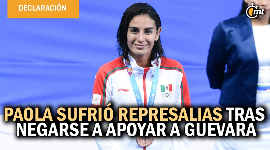 Paola Espinosa acusa persecución para no ir a Tokio 2020 por no apoyar a Guevara