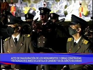 Presidente Nicolás Maduro inauguró Monumento Bicentenario en el inmortal Campo de Carabobo