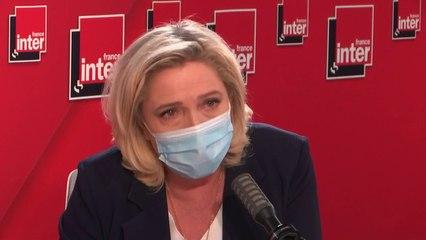 """""""Le gouvernement a décidé d'avancer de 15 jours l'élection présidentielle"""" (Marine Le Pen)"""